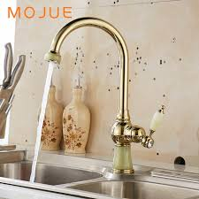 retro kitchen faucet mojue kitchen faucet golden retro sink mixers faucets basin tap