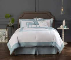 Blue And White Comforters Images Biglots Com Hotel Cloud Blue 26 White 8 Pi