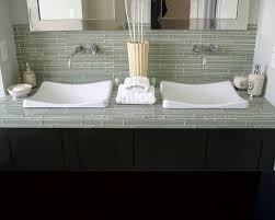 Glass Tiles Bathroom Glass Tile Countertops Houzz Amazing Of Tile Bathroom Countertops