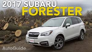 subaru 2017 subaru forester review youtube