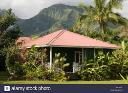 Plantation Style House by Traditional Plantation Style Hawaiian House Hanalei Kauai