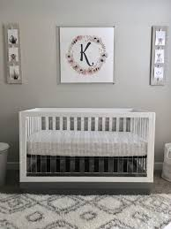 Pink And Gray Nursery Decor 341 Best Gray And Pink Nursery Images On Pinterest Babies