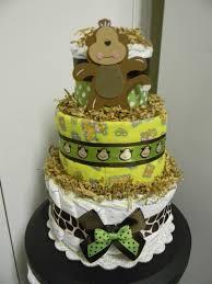 baby boy giraffe diaper cakes jungle theme monkey giraffe 3