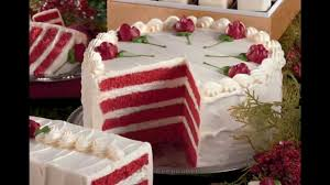 simple red velvet cake decorations ideas youtube