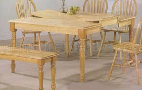 natural wood kitchen table and chairs natural wood dining table with ogee edge arrow back chairs ogee