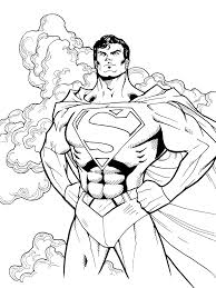 superhero coloring pages free superman coloring page coloring page