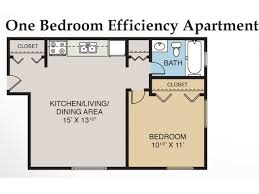 Efficiency Apartment Floor Plans 1 Bed 1 Bath Apartment In Midland Mi Eastlawn Arms Apartments