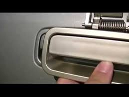 Exterior Car Door Handle Repair 2000 Toyota Camry Door Handle Replacement