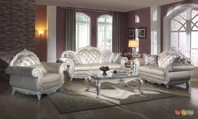 White Leather Living Room Set 20 Leather Living Room Furniture Set And How To Care It