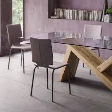 sedie sala da pranzo moderne sedia con rivestimento resistente all usura silhouette arredaclick