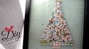 Easy Beaded Christmas Ornaments - diy beaded christmas tree collage youtube