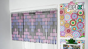 Where Can You Buy Door Beads by Diy Magazine Rolls And Beads Door Curtain Youtube