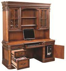 Desk With Printer Storage Baer U0027s Custom Furniture Desks With Hutches Storage With Style