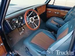 chevy vega interior 1970 gmc code blue custom trucks truckin u0027 magazine