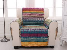 Southwest Living Room Furniture by Greenland Home Fashions Southwest Quilted Box Cushion Slipcover