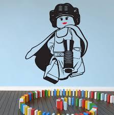 lego star wars princess leia wall art wall stickersdecal zoom