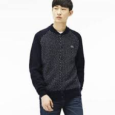 cost effective lacoste live zippered bomber sweatshirt men