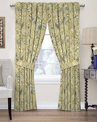 Discount Waverly Curtains Amazon Com Waverly 15394052063flx Brighton Blossom 52 Inch By 63