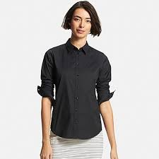 women u0027s shirts and blouses supima cotton uniqlo us