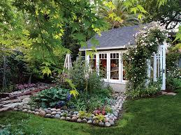 cottage style backyards 7 favorite garden cottages sheds sunset magazine