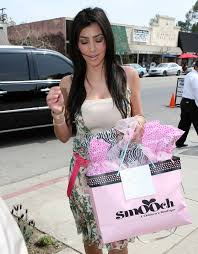 kim kardashian jessica alba u0027s baby shower at ever after teahouse
