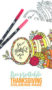 thanksgiving printable coloring pages free printable thanksgiving coloring page printable crush