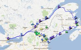 map of canada east coast august 2012 a portia adventure