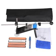 sharpening kitchen knives with a stone professional kitchen sharpening knife sharpener system fix angle