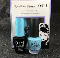 opi gel lacquer i believe in manicures color matched duo kit