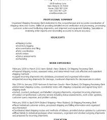 Resume Shipping And Receiving Smartness Inspiration Shipping And Receiving Resume 2 Professional