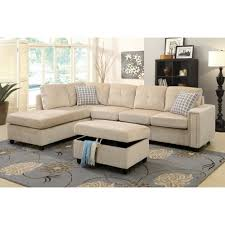 Microfiber Reversible Chaise Sectional Sofa Furniture Sectional Sofas Amazon Tufted Sectional Sofa Chaise