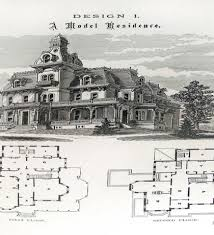 mansions floor plans house plans 82563 on old victorian mansion