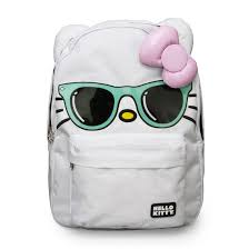 hello bow hello backpack mint sunglasses pink bow sanbk0160