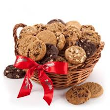 cookie gift basket mrs fields cookie baskets