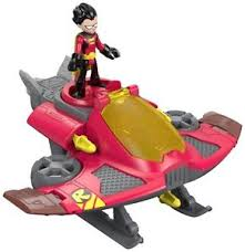 fisher price imaginext teen titans robin u0026 jet figures ebay