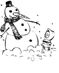 snowman coloring pages 2 coloring pages print