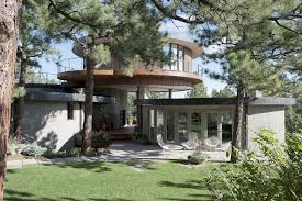 Vacation Home Designs Extraordinary Mid Century Design In Colorado Round House Round