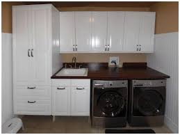 Laundry Room Cabinet Create A Cozy Laundry Room Cabinets Lowes Rooms Decor And Ideas