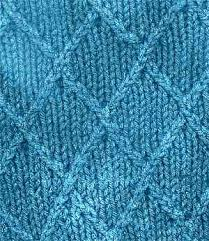 knitting stitch patterns knit lattice