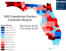 Florida Map Counties by The Disappearing Swing Counties Of Florida U2013 Mci Maps