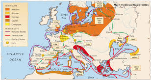Map Of Medieval Europe The Rise Of The Merchant Class In Medieval Europe Historum