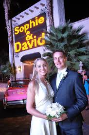 vegas weddings only at viva las vegas weddings your names in lights on the las