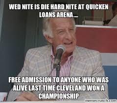 Die Hard Meme - nite is die hard nite at quicken loans arena