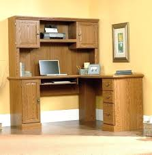 sauder orchard computer desk with hutch carolina oak sauder computer desk with hutch cherry orchard corner and