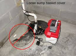water powered backup sump pump five common sump system defects