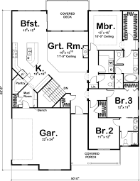Country Farmhouse Floor Plans by 100 1195 Main Level House Plans Pinterest