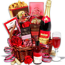 non food gift baskets evening of indulgence non alcoholic gift basket inspiring ideas