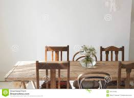 Flower Dining Table Flower Vase On Dining Table Stock Photo Image 49954018