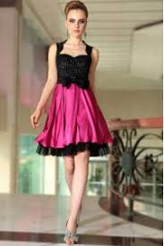 pink and black holiday dresses 2018 cheap prom gowns