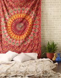 Beach Bedspread Hippie Twin Mandala Tapestry Indian Wall Hanging Beach Bedspread